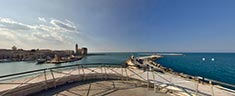 Immagine del virtual tour 'Panorama del Mare di Trani '